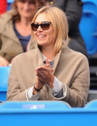 Maria Sharapova - at the AEGON Championships Day 1 in London 6/10/13