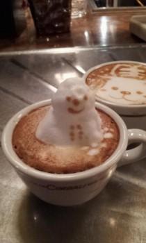 Buih kopi susu