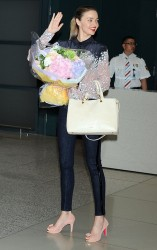 Miranda Kerr - at Incheon International Airport in Seoul 6/11/13