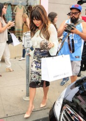 Kourtney Kardashian - Shopping in West Hollywood 6/11/13