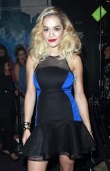 Rita Ora - DKNY Artworks Event in London 6/12/13