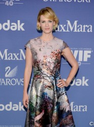 January Jones - 2013 Crystal + Lucy Awards in Beverly Hills 6/12/13
