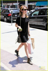 Emma Roberts - at Pressed Juicery in LA 6/14/13