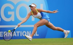 Caroline Wozniacki - AEGON International Day 5 in Eastbourne 6/19/13