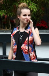 Bridgit Mendler - at the London Studios 6/21/13