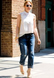 Kylie Minogue - out in NYC 6/21/13