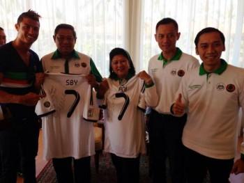 Cristiano Ronaldo datang ke indonesia