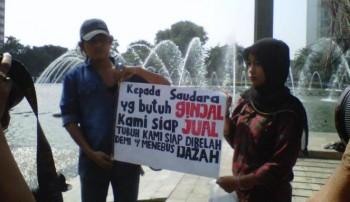Sugiyanto dan anaknya / Vivanews