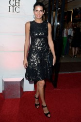 Angie Harmon - Carolina Herrera Rodeo Drive Boutique opening in LA 6/26/13