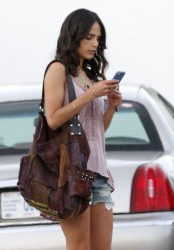 Jordana Brewster - on the set of 'American Heist' in New Orleans 6/27/13