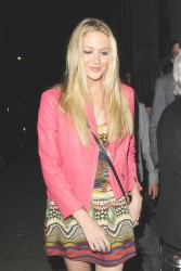 Stephanie Pratt - at the 2&8 Club in London 6/28/13