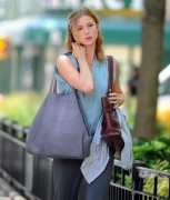 Emily VanCamp - Filming in NYC (06/28/13)