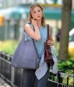 Emily VanCamp - Filming in NYC (06/28/13)