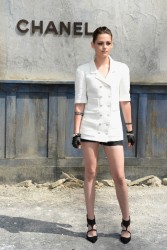 Kristen Stewart - Chanel fashion show in Paris 7/2/13, ADDS(7x)