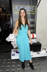 Tina Barrett - At The Movies launch party in London 7/4/13