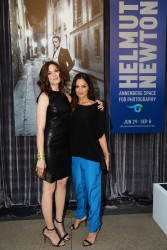 "Minka Kelly - The Opening of ""Helmut Newton: White Women - Sleepless Nights - Big Nudes"" - Century City, California 06/28/13"