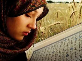 Wanita cantik taat beribadah - Ist