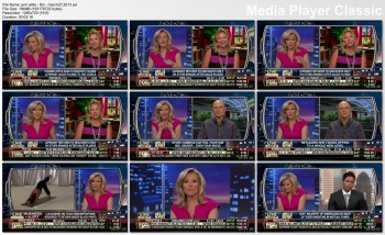 GERRI WILLIS cleavage - fbn - march 27, 2013