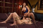 Lea Lexis and Allie James : Lesbian Sex Slave Punished! - Kink/ WhippedAss (2013/ HD 720p)