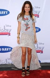 Brooke Burke-Charvet - 'Mickey Through The Decades Collection' launch in LA 7/13/13