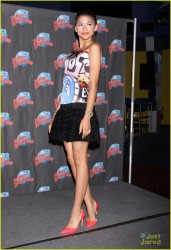 Zendaya Coleman - at Planet Hollywood Times Square in NYC 7/15/13