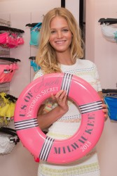 Erin Heatherton - Victoria's Secret U.S. of Angels Swim Summer Tour in Milwaukee 7/18/13