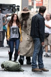 Megan Fox - On set of 'Teenage Mutant Ninja Turtles' in NYC 7/19/13