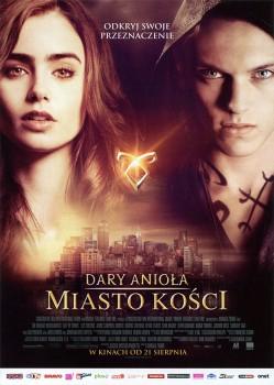 Przód ulotki filmu 'Dary Anioła: Miasto Kości'
