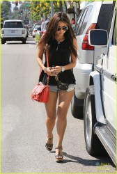 Brenda Song - Shopping in Beverly Hills 7/25/13