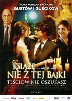 Przód ulotki filmu 'Książę Nie Z Tej Bajki'