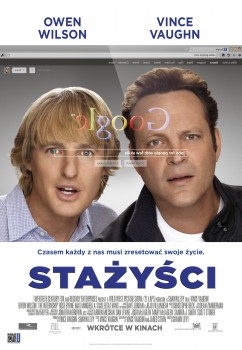 Polski plakat filmu 'Stażyści'