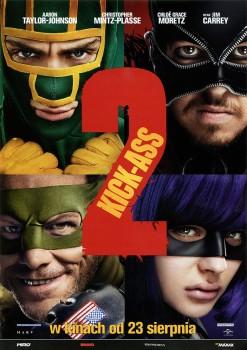 Przód ulotki filmu 'Kick-Ass 2'
