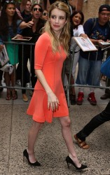 "Emma Roberts at ""Live with Kelly and Michael"" in NYC 8/8/13"