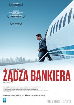 Polski plakat filmu 'Żądza Bankiera'