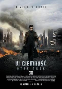 Polski plakat filmu 'W Ciemność. Star Trek'