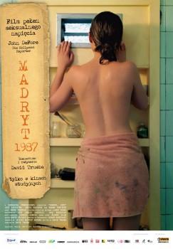 Polski plakat filmu 'Madryt 1987'