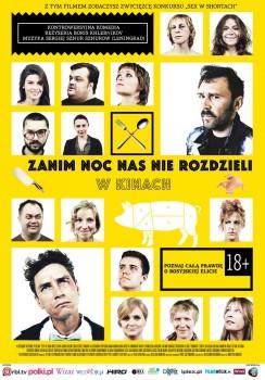 Polski plakat filmu 'Zanim Noc Nas Nie Rozdzieli'