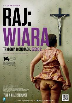 Polski plakat filmu 'Raj: Wiara'