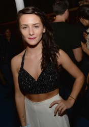 Addison Timlin - Warby Parker's store opening in LA 8/15/13