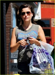 Sophia Bush - out in LA 8/17/13