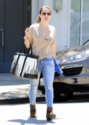 Sophia Bush - Shopping in Beverly Hills 8/21/13