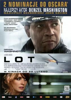 Przód ulotki filmu 'Lot'