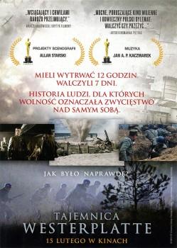 Tył ulotki filmu 'Tajemnica Westerplatte'