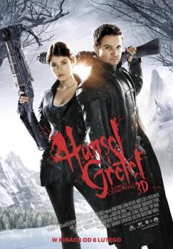 Polski plakat filmu 'Hansel i Gretel: Łowcy Czarownic'