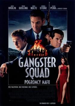 Przód ulotki filmu 'Gangster Squad. Pogromcy Mafii'