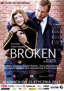 Przód ulotki filmu 'Broken'