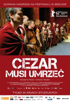 Polski plakat filmu 'Cezar Musi Umrzeć'
