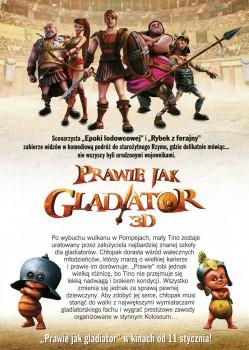 Tył ulotki filmu 'Prawie Jak Gladiator'