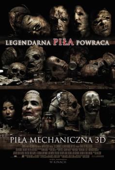 Polski plakat filmu 'Piła Mechaniczna 3D'