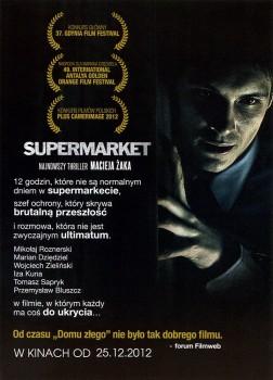 Tył ulotki filmu 'Supermarket'